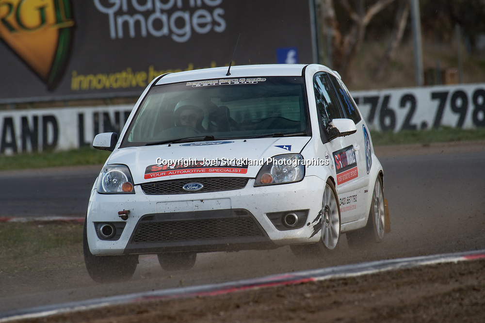 Ross Murdoch, Ford Fiesta  - Rallycross Australia - Winton Raceway - 16th July 2017