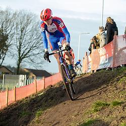 11-01-2020: Wielrennen: NK Veldrijden: Rucphen <br />Bart Kortleve