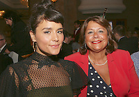 (L-R) Jessie Ware and mum Helena. The Silver Clef Lunch 2013 in aid of  Nordoff Robbins held at the London Hilton, Park Lane, London.<br /> Friday, June 28, 2013 (Photo/John Marshall JME)