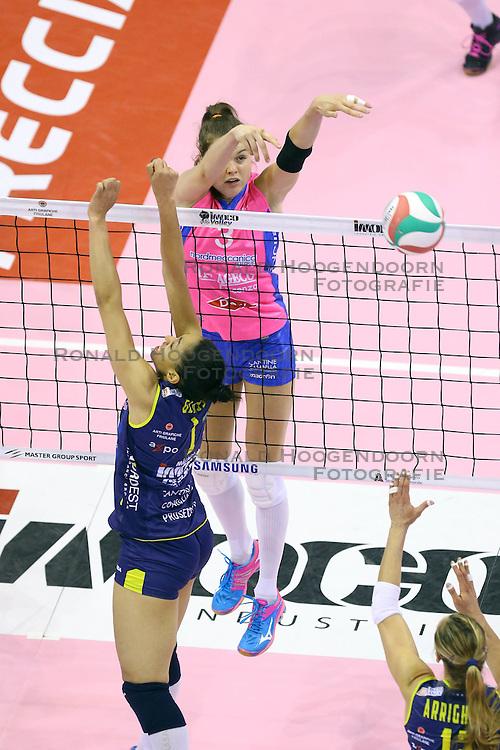 26-04-2016 ITA: Imoco Volley Conegliano - Nordmeccanica Piacenza, Treviso<br /> Final play-offs, Conegliano wint de eerste wedstrijd 1-0 / Yvon Belien<br /> <br /> ***NETHERLANDS ONLY***