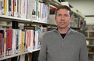 "Cedar Rapids Public Library Director Robert ""Bob"" Pasicznyuk at the Westdale Mall branch in Cedar Rapids on Friday, February 1, 2013."