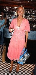 MISS MARTHA WARD at the opening party of the new Frankie's Italian Bar and Grill hosted by Frankie Dettori, Marco Pierre White and Edward Taylor at 68 Chiswick High Road, London W4 on 1st September 2005.<br />