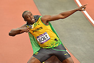 Usain Bolt on Sunday 5 August