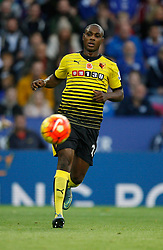 Odion Ighalo of Watford in action  - Mandatory byline: Jack Phillips/JMP - 07966386802 - 7/11/2015 - SPORT - FOOTBALL - Leicester - King Power Stadium - Leicester City v Watford - Barclays Premier League