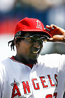 May 5, 2007: Vladimir Guerrero of the Angels during the Chicago White Sox as they played the Los Angeles Angels of Anaheim at Anaheim Stadium in Anaheim, CA. White Sox defeated the Angels 6-3 in regulation..***** Edtorial Use Only *****