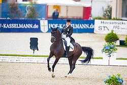 Piotrowski Juliette, (GER), Sir Diamond<br /> European Dressage Championships U25 - Hagen 2016<br /> © Hippo Foto - Leanjo de Koster<br /> 17/06/16