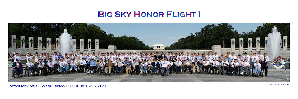 12x36 pano, Big Sky Honor Flight I