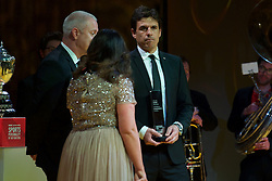 CARDIFF, WALES - Monday, December 5, 2016: Wales manager Chris Coleman picks up the Wales Sport Awards Team of the Year Award 2016 for the Wales National Team at the Millennium Centre. (Pic by Ian Cook/Propaganda)