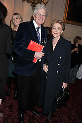 PETER OWEN and PATRICIA HODGE at the Audi Ballet Evening held at the Royal Opera House, Bow Street, Covent Garden, London on 22nd March 2012.
