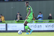Forest Green Rovers Ebou Adams(14) during the EFL Sky Bet League 2 match between Forest Green Rovers and Mansfield Town at the New Lawn, Forest Green, United Kingdom on 19 October 2019.