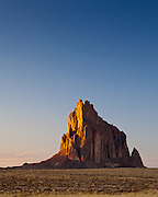 Shiprock. Four Corners region of New Mexico.
