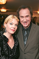 Ray Davies and partner Karin Forsman
