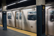 4 March 2013 - New York, NY. Times Square subway station. Photograph by Latima Stephens/CUNY Journalism Photo