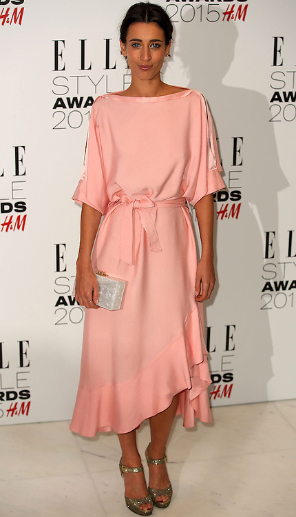 Laura Jackson attends the Elle Style Awards 2015 at Sky Garden @ The Walkie Talkie Tower on February 24, 2015 in London, England. EXPA Pictures &copy; 2015, PhotoCredit: EXPA/ Photoshot/ James Shaw<br /> <br /> *****ATTENTION - for AUT, SLO, CRO, SRB, BIH, MAZ only*****
