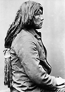 Miguel, Chief of the Yuma Indians. From photograph taken 1885-1890.