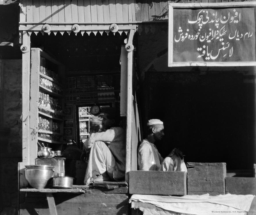 Soda Water Seller, Delhi, India, 1929