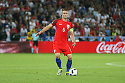 England Defender Gary Cahill during the Euro 2016 Group B match between Slovakia and England at Stade Geoffroy Guichard, Saint-Etienne, France on 20 June 2016. Photo by Phil Duncan.