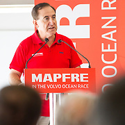 © Maria Muina I MAPFRE: Presentación oficial MAPFRE In the Volvo Ocean Race. Official Team MAPFRE in the Volvo Ocean Race presentation.