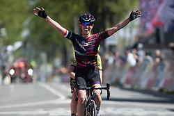 Katarzyna Niewiadoma (POL) of CANYON//SRAM Racing wins Amstel Gold Race - Ladies Edition - a 126.8 km road race, between Maastricht and Valkenburg on April 21, 2019, in Limburg, Netherlands. (Photo by Balint Hamvas/Velofocus.com)