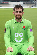 Stephen Parry during the Lancashire County Cricket Club Media Day at the Emirates, Old Trafford, Manchester, United Kingdom on 11 April 2018. Picture by George Franks.