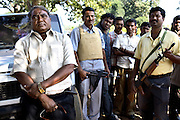 Mahendra Kumar, former congress MP and the man who started the Salwa Judam Militia movement. Some criticize the movement as only having been created so that the Chhattisgarh state could profit from getting access to the vast reserves of mineral deposits in the jungle, with little or no benefit to local people.<br /> To continue the fight against the naxalites the Salwa Judam concept is beginning to be replicated by other states in India.