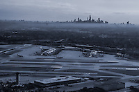 Chicago Skyline from Midway Airport