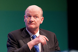 © Licensed to London News Pictures. 04/10/2011. Manchester, UK. David Willetts at the Conservative Party Conference in Manchester. Photo credit : Joel Goodman/LNP