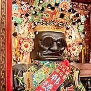 General Fan Orthodox Lu-erh-men Temple, Tainan , Taiwan