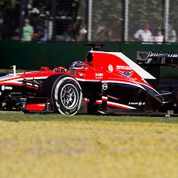 F1 Australian Grand Prix 15 March 2013 Practice Session 2.Practice Session 2. Luiz Razia Marussia Team Turn 6.(c) MILOS LEKOVIC | StockPix.eu