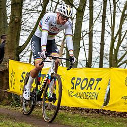 2020-01-05 Cycling: dvv verzekeringen trofee: Brussels: Mathieu van der Poel wins the Brussels University Cross