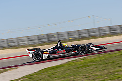 February 12, 2019 - Austin, Texas, U.S. - SPENCER PIGOT (21) of the United State goes through the turns during practice for the IndyCar Spring Test at Circuit Of The Americas in Austin, Texas. (Credit Image: © Walter G Arce Sr Asp Inc/ASP)