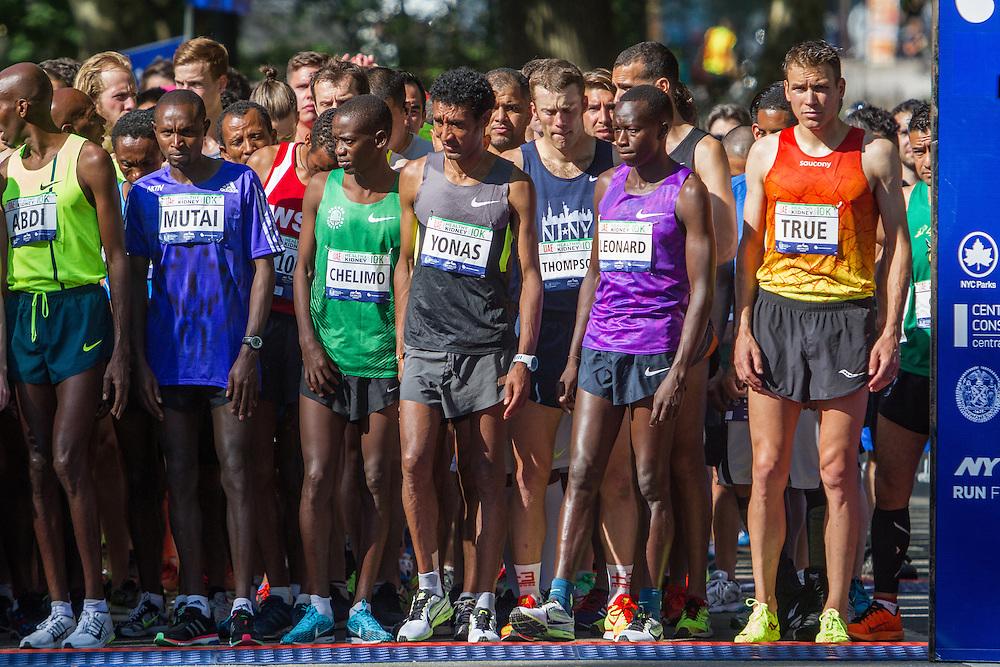 UAE Healthy Kidney 10K, elites line up for start in Central Park
