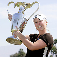 The Kraft Nabisco Champion Morgan Pressel.
