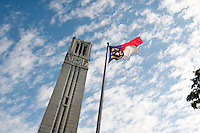 Belltower and NC Flag.