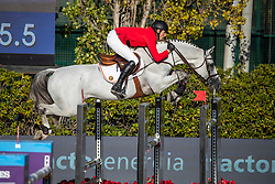 Wathelet Gregory, BEL, MJT Nevado S<br /> FEI Jumping Nations Cup Final<br /> Barcelona 2019<br /> © Hippo Foto - Dirk Caremans<br />  03/10/2019