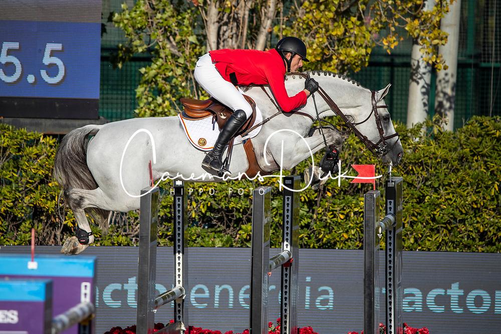 Wathelet Gregory, BEL, MJT Nevado S<br /> FEI Jumping Nations Cup Final<br /> Barcelona 2019<br /> © Hippo Foto - Dirk Caremans<br />  03/10/2019