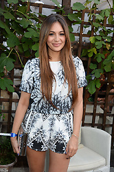 ZARA MARTIN attending the Warner Bros. & Esquire Summer Party held at Shoreditch House, Ebor Street, London E1 on 18th July 2013.