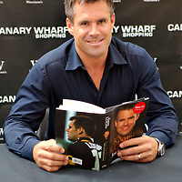 London Sept 1st  Waterstone Canary Wharf  photocall with ex rugby player and Striclty Come Dancing celebrity Kenny Logan for the publication of his  biography...Standard Licence feee's apply  to all image usage.Marco Secchi - Xianpix tel +44 (0) 7717 298571.http://www.marcosecchi.com