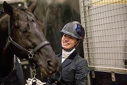 Fry Charlotte, GBR, Glamourdale<br /> KWPN Stallion Show 2019<br /> © Hippo Foto - Sharon Vandeput<br /> 1/02/19