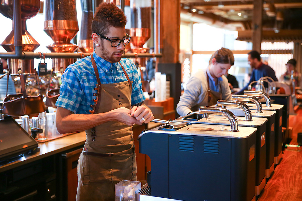 Starbucks Roastery photographed on March 10, 2016. (Joshua Trujillo, Starbucks)