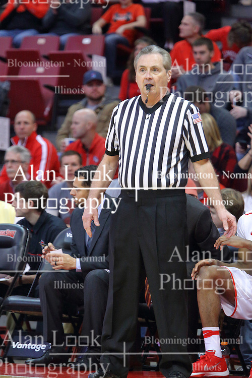 14 January 2017:  Terry Davis during an NCAA  MVC (Missouri Valley conference) mens basketball game between the Wichita State Shockers the Illinois State Redbirds in  Redbird Arena, Normal IL