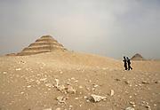 Step Pyramid of Djoser at Saqqara, Egypt