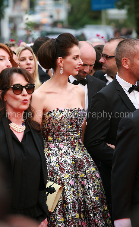 at Jimmy's Hall gala screening red carpet at the 67th Cannes Film Festival France. Thursday 22nd May 2014 in Cannes Film Festival, France.