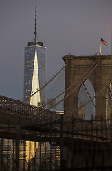 June 19, 2017 - New York, NY, USA - A Georgia architect says the design for One World Trade Center was stolen from his 1999 master's thesis. (Credit Image: © Brian Cassella/TNS via ZUMA Wire)