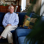 11/20/12---------Boca Raton, Florida-----------<br /> Retired physician  Dr. Michael Lapkin, 72, in his Boca Raton, Florida home. Dr. Lapkin retired in 2005 and worked in Broward County, Florida. <br /> CREDIT: Angel Valentin for The Wall Street Journal<br /> SLUG: CLIFFIMPACT