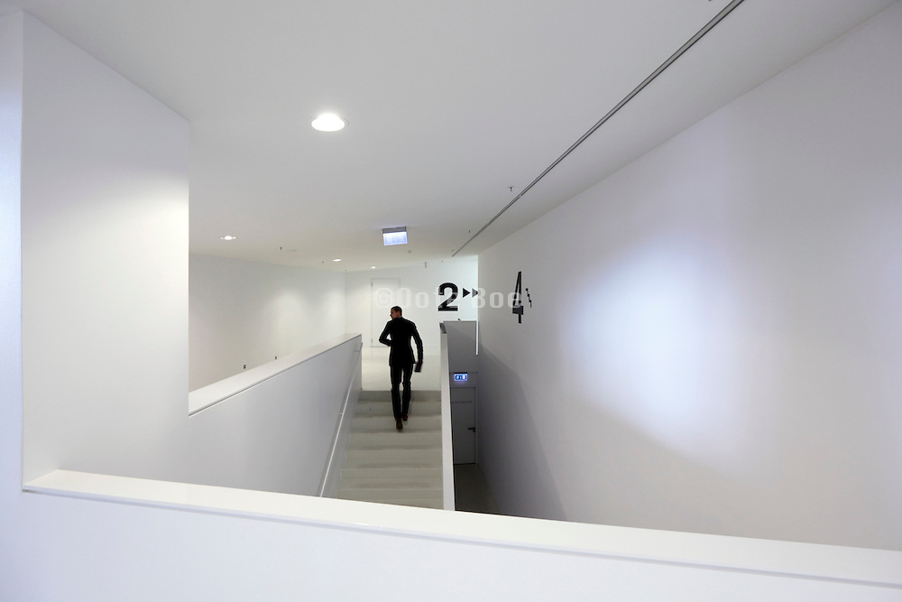 hall inside The Filmmuseum Eye Amsterdam