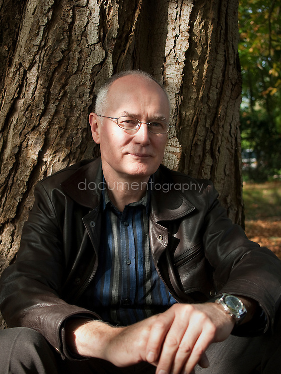 Prof. Roger Corder author of the Red Wine Diet at home in Heathfield, East Sussex, UK.