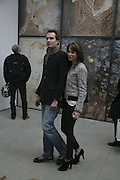 Fritz von Westenholz and Caroline Sieber, Aperiatur Terra, Private View of work by  Anselm Kiefer<br />