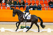 Astrid Reinders - Zazou MJ<br /> KNHS Indoorkampioenschappen 2020<br /> © DigiShots