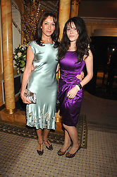Left to right, actress CHERIE LUNGHI and her daughter actress NATHALIE LUNGHI at the Chain of Hope Ball held at The Dorchester, Park Lane, London on 4th February 2008.<br /><br />NON EXCLUSIVE - WORLD RIGHTS